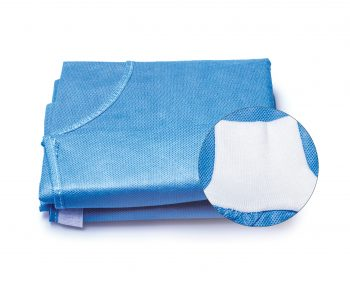 MDDI sterile surgical gown bundle used in oral surgery