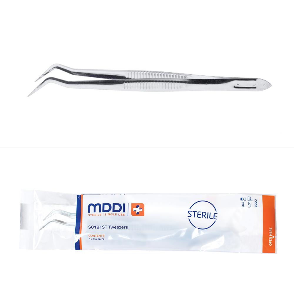 MDDI single use sterile dental tweezers